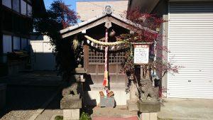 江北氷川神社 諏訪神社