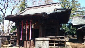 豊玉氷川神社 拝殿