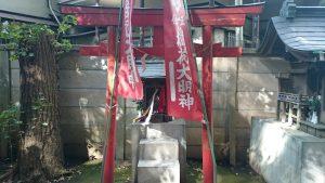 高円寺氷川神社 稲荷神社 (1)