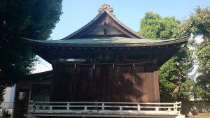 西高井戸松庵稲荷神社 舞殿