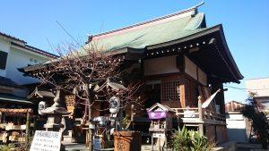 江北氷川神社 拝殿