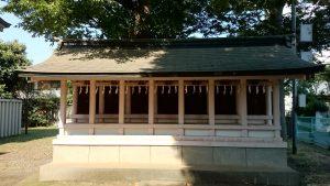 高井戸西第六天神社 末社殿 (2)