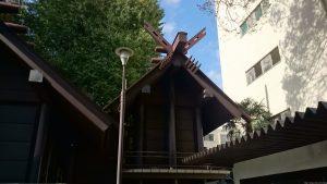 高円寺氷川神社 本殿