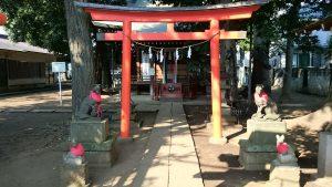 西高井戸松庵稲荷神社 二の鳥居