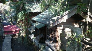 江北氷川神社 稲荷塚 (1)