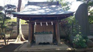 豊玉氷川神社 手水舎