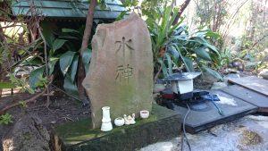 江北氷川神社 水神