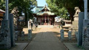高井戸西第六天神社 参道