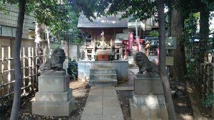 高円寺氷川神社 気象神社