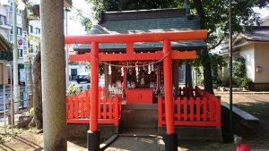 西高井戸松庵稲荷神社 末社 (1)