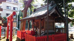 西高井戸松庵稲荷神社 末社 (2)