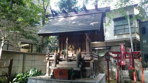 高円寺氷川神社 気象神社 社殿