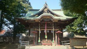高井戸西第六天神社 社殿