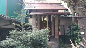 五十稲荷神社 社殿