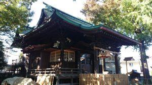 下丸子六所神社 拝殿