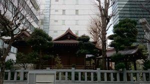 太田姫稲荷神社 社殿全景