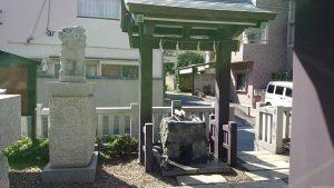 神楽坂若宮八幡神社 手水舎