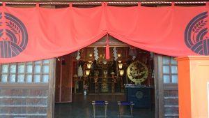 玉姫稲荷神社 拝殿内部