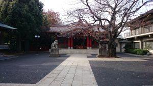 旗岡八幡神社 境内