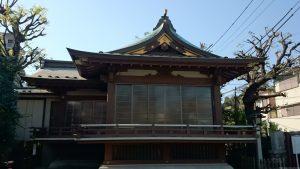 新宿下落合氷川神社 神楽殿