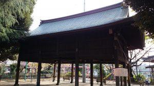 旗岡八幡神社 絵馬堂