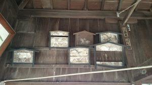 旗岡八幡神社 絵馬堂 (3)