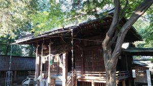 宮前春日神社 社殿