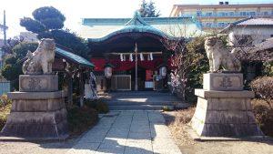 玉姫稲荷神社 参道