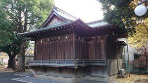 旗岡八幡神社 神楽殿