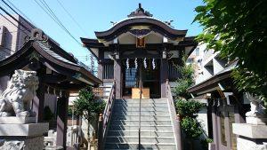 神楽坂若宮八幡神社