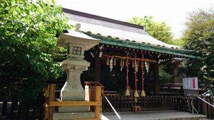 新宿下落合氷川神社 拝殿