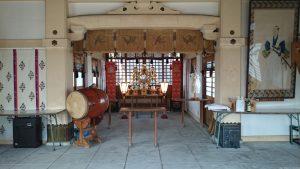紀州神社 拝殿内部