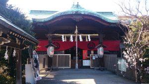 玉姫稲荷神社 拝殿