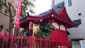 装束稲荷神社 社殿 (2)