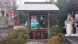 玉姫稲荷神社 手水舎