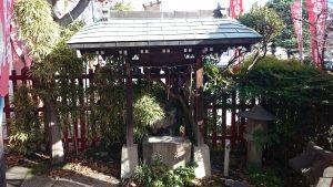 玉姫稲荷神社 口入稲荷神社 手水舎