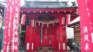 装束稲荷神社 社殿