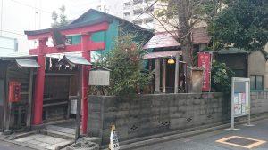 五十稲荷神社 全景