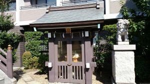 神楽坂若宮八幡神社 稲荷神社