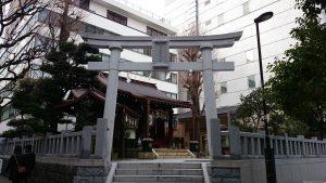 太田姫稲荷神社 鳥居