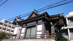 神楽坂若宮八幡神社 本殿
