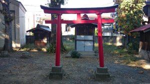 下丸子六所神社 稲荷神社 (2)
