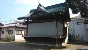 下丸子六所神社 神楽殿