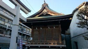 押上高木神社 神楽殿