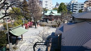 木場洲﨑神社 全景