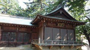 久我山稲荷神社 舞殿
