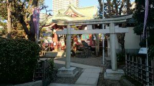 押上高木神社 南側鳥居