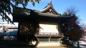 小山八幡神社 神楽殿