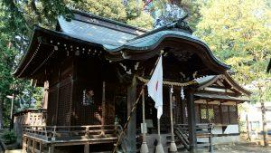 久我山稲荷神社 拝殿
