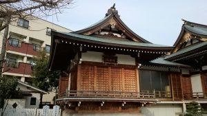 西之宮稲荷神社 神楽殿